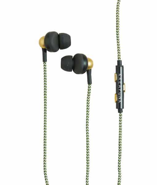 agem earphones set in a white background