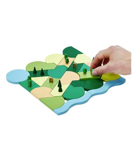 Blockitecture parkland building blocks