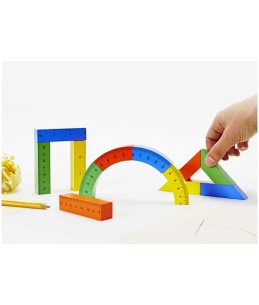little architect magnetic building blocks