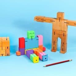 AREAWARE Cubebot Medium Multi and Natural